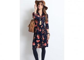 Together-Wrap-Over-Print-Dress